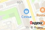 Схема проезда до компании NPS в Перми