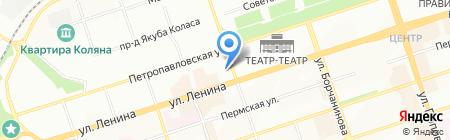 Альянс-Тур на карте Перми