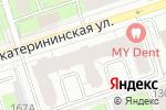 Схема проезда до компании Твоя улыбка в Перми