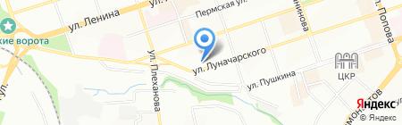 А-Феникс на карте Перми