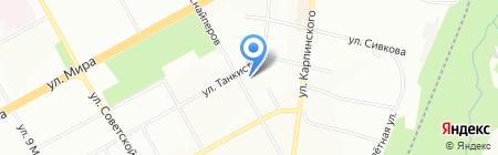 Детский сад №12 на карте Перми