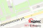 Схема проезда до компании Солнечный дом в Перми