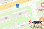 Схема проезда до компании Комплимент в Перми