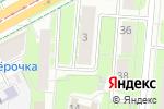 Схема проезда до компании Серебряное копытце в Перми