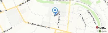 Детский сад №371 на карте Перми