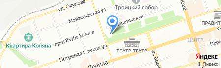 Банкомат Западно-Уральский банк на карте Перми