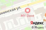 Схема проезда до компании Птицефабрика Пермская в Перми