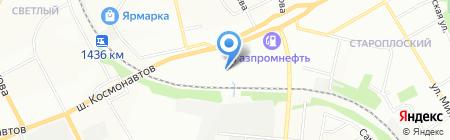 Трансавто на карте Перми