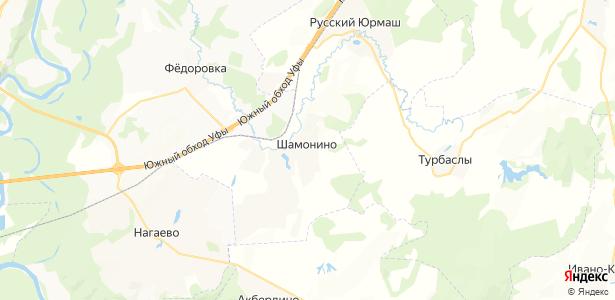 Шамонино на карте