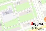Схема проезда до компании Миндаль в Перми