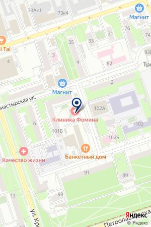 АВАРИЙНО-ДИСПЕТЧЕРСКАЯ СЛУЖБА ГОРВОДОКАНАЛ на карте Чусового