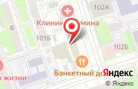 Схема проезда до компании Интэкс-Строй в Перми