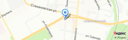 Цельсий на карте Перми