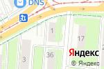Схема проезда до компании Индустриальный центр недвижимости в Перми