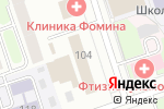 Схема проезда до компании Гагилен в Перми