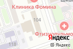Схема проезда до компании Параграф в Перми