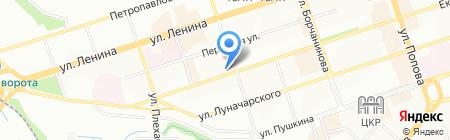 Альма тревел на карте Перми