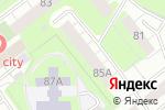 Схема проезда до компании Виола в Перми