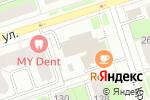 Схема проезда до компании Праздник Маркет в Перми