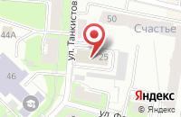 Схема проезда до компании Офисные решения в Перми