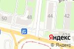 Схема проезда до компании Настоящее российское мясо в Перми
