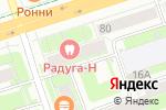 Схема проезда до компании BLACKWOOD Vape Shop в Перми