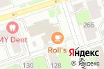 Схема проезда до компании Джинсовый лидер в Перми
