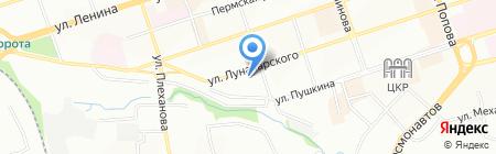 Happy Tour на карте Перми