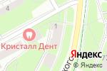 Схема проезда до компании Прикамский социальный институт в Перми