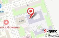 Схема проезда до компании Алина в Янтарном