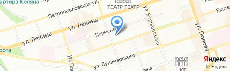 Детский сад №36 на карте Перми
