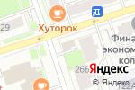 Схема проезда до компании Из печки в Перми