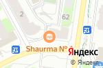 Схема проезда до компании Trend в Перми
