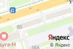 Схема проезда до компании СпортМода в Перми