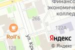 Схема проезда до компании Улыбка S в Перми