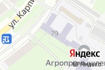 Схема проезда до компании Пермский агропромышленный техникум в Перми