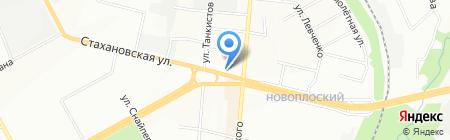 Альянс-Профи на карте Перми