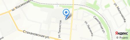 Эксперт-М на карте Перми