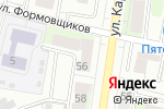 Схема проезда до компании Богема в Перми