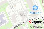 Схема проезда до компании Ажур-аудит в Перми