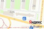 Схема проезда до компании Цветочный уголок в Перми