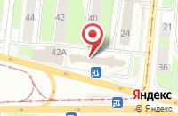 Схема проезда до компании Промэкс в Перми