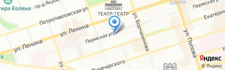 Аудит-Контракт на карте Перми