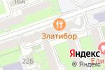 Схема проезда до компании Межрегиональный центр экспертизы государственных и муниципальных контрактов в Перми