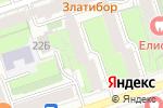 Схема проезда до компании Вектор в Перми