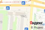 Схема проезда до компании Уральские посикунчики в Перми