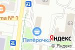 Схема проезда до компании Фотоцентр на ул. Карпинского в Перми