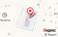 Схема проезда до компании Росинка в Шмидтово