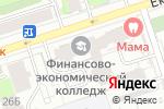 Схема проезда до компании РСБ-Недвижимость в Перми