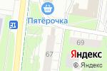 Схема проезда до компании Фруктовый рай в Перми